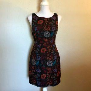 Mini Floral Fall Dress